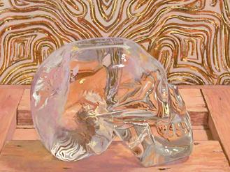 Untitled (Crystal Skull 3)