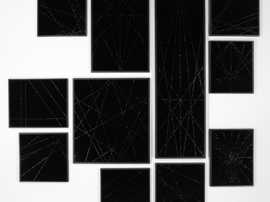 Untitled (Black Geometric Multiple)
