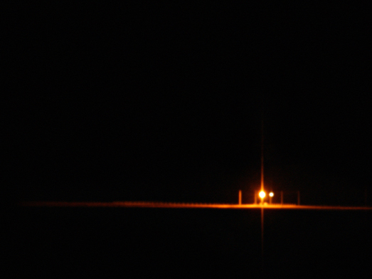 Unidentified Light Source/Cactus Flats, NV/Distance ~17 miles/9:45 pm