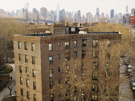 View From The Window at Queensbridge (after Niepce)
