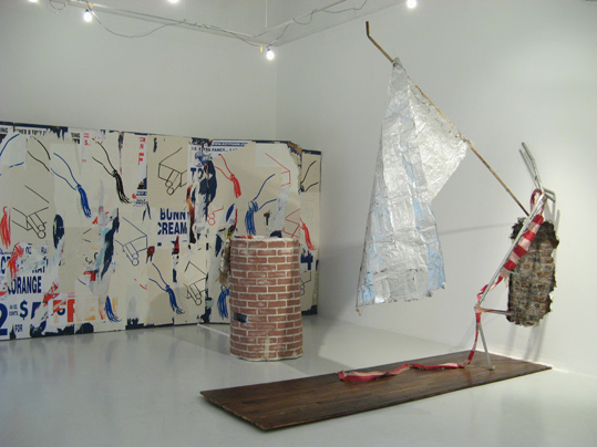 "Installation view, ""A Roll in the Hay"""
