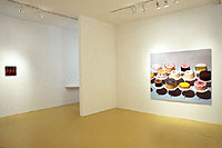 "Sharon Core ""Thiebauds"" installation view 2004"