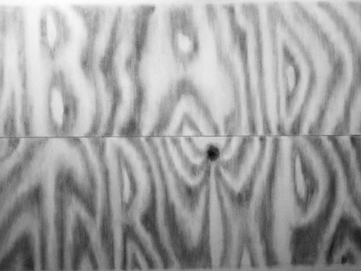 """Gregory Edwards, """"Bad Trip,"""" 2005, Graphite on Paper, 22 x 30 inches"""