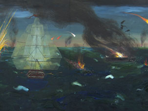"""""""Somewhat Historical Maritime Painting"""""""