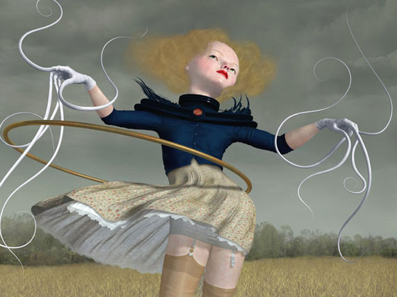 "Ray Caesar, ""The Power and the Glory,"" Giclee Print on Premier Art Hotpress Paper, 18 x 24 inches, 2005, Edition of 20"