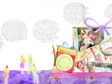 Silence Seemed Like a Curse (Duchamp/Johns/Pollock/Brancusi)