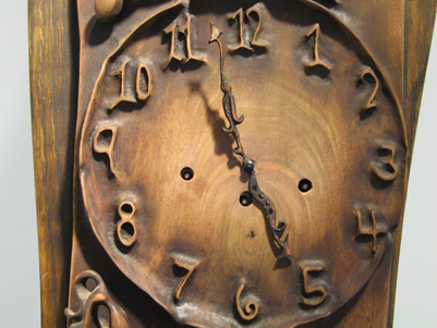 Grandfather Clock [detail]