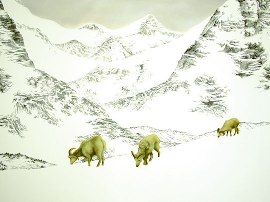 Mountains with Goats