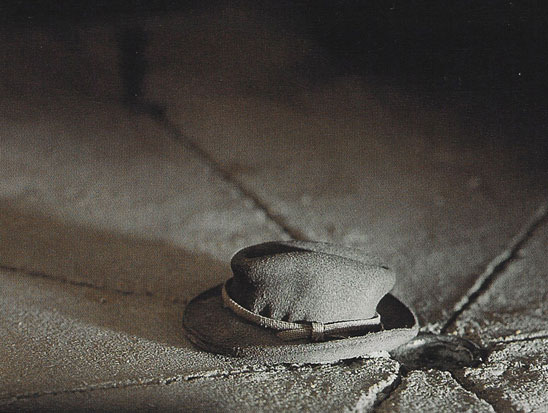 """Garage (hat)"" from the series ""The Nutshell Studies of Unexplained Death"""
