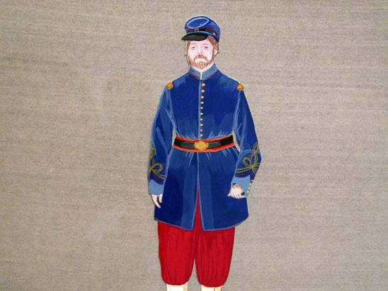 A Dashing Officer