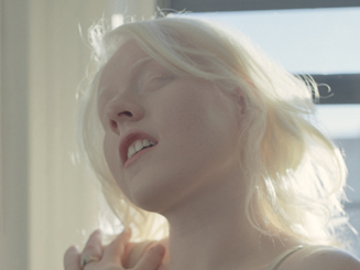 Grace in Window