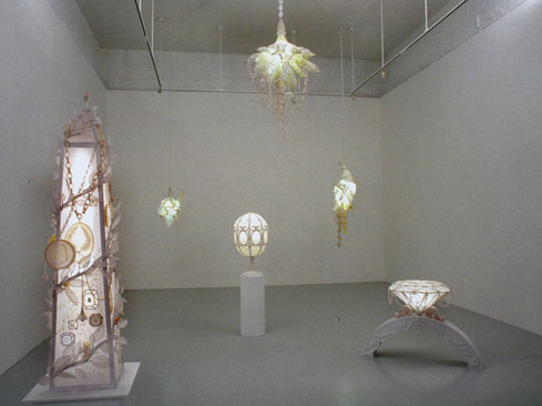 """""""Objects of Virtue,"""" installation view"""